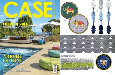 articolo CASE stili e design MULTIPLEM mosaicomicro
