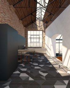 Loft Industriale _ by Spazio Materiae